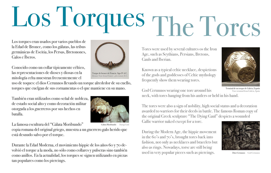 Nueva colección de torques · New torcs collection
